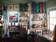 Pine surf shop - Long Beach Island NJ via Mark Tesi & Julie Goldstein circa 2008