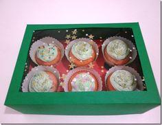 how to make cupcake boxes