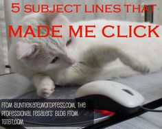 """Auntie Kate presents """"5 subject lines that made me click"""" especially chosen for consignment and resale shops"""