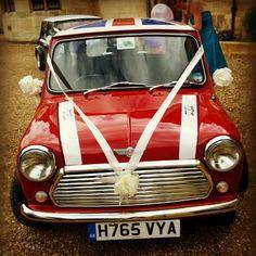 Wedding Mini  #mini #car #cute