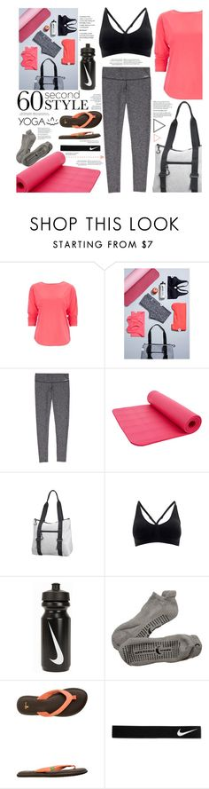 """Yoga"" by cynthia6 ❤ liked on Polyvore featuring Mode, NIKE, Crescent Moon Yoga, sanuk und Beyond Yoga"