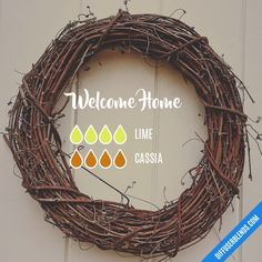 Welcome Home - Essential Oil Diffuser Blend