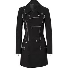 """trench coat """"pop"""" PHILIPP PLEIN (3,580 CAD) ❤ liked on Polyvore featuring outerwear, coats, jackets, trench coat and philipp plein"""