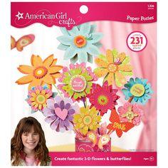 Amazon.com: American Girl Crafts Paper Posies Pad