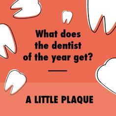 A little plaque.  HA! - Children's Dental Center of Madison | cdc@madisonkidsdentist.com | www.madisonkidsdentist.com