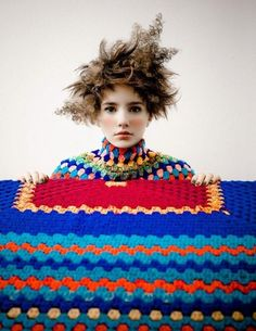 JHA I love the crochet crazy hair girl... I want to be her
