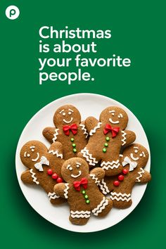 Easy Gingerbread Cookie Recipe, Chewy Gingerbread Cookies, Holiday Cookies, Holiday Desserts, Holiday Baking, Holiday Treats, Christmas Baking, Gingerbread Men, Holiday Parties