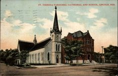 Cathedral School, Lincoln Nebraska, Old Churches, Florida, Europe, America, The Florida, Usa