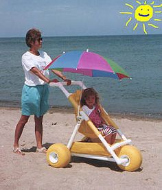 PVC Beach Buggy for kids...