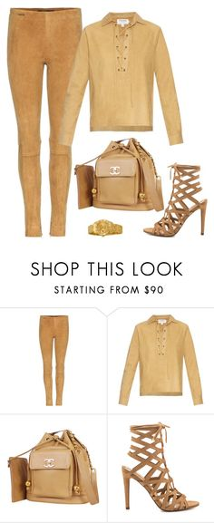 """Nude Look"" by hy1as on Polyvore featuring Mode, Polo Ralph Lauren, Frame, Chanel, ALDO und Rolex"