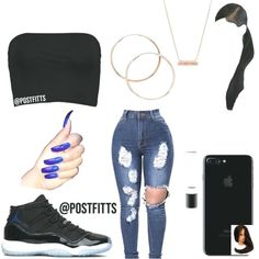 Cute Fashion Outfits for Teens worth Copying - Baddie Outfits Casual, Boujee Outfits, Swag Outfits For Girls, Cute Swag Outfits, Teenage Girl Outfits, Cute Comfy Outfits, Teen Fashion Outfits, Polyvore Outfits, Fashion Clothes