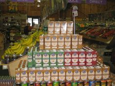 Cross merchandise in produce! More than Gourmet stocks