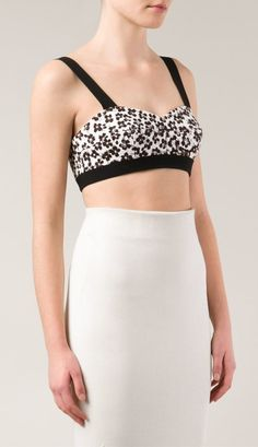 How cute is this Emanuel Ungaro Flower Print Bralette ($585)!?