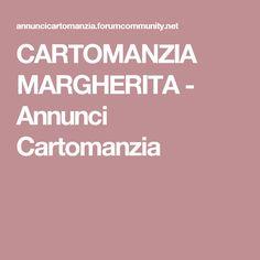 CARTOMANZIA MARGHERITA - Annunci Cartomanzia
