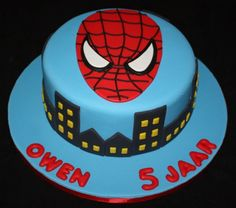 spiderman cake!