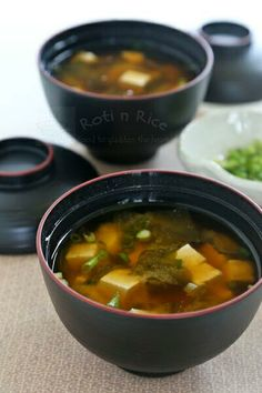 Miso Soup for the Cold Weather.