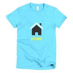 Home St. Lucia - Short sleeve women's t-shirt - Properttees