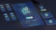 Digital letterings on Behance