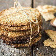 Biscuits au sésame fait maison
