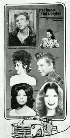 Pachuco hairstyles