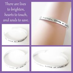 """LDS Sister Missionary Bracelet on Etsy, $12.00 for Christmas.  """"There are lives to brighten, hearts to touch, and souls to save.""""  Use coupon code THANKYOU10 for 10% off total purchase."""