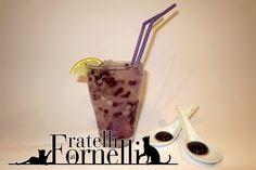 Volete stupire gli amici con un #cocktail #molecolare? Purple Spell, Incantesimo Viola, delizierà di #mirtillo i palati e di colore gli occhi!
