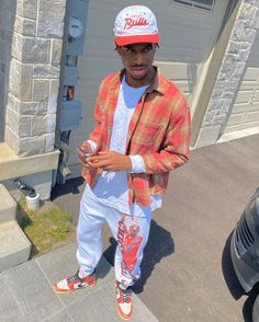 Dope Outfits For Guys, Swag Outfits, Mode Streetwear, Streetwear Fashion, Nba Fashion, Fashion Outfits, Fashion Ideas, Fashion Inspiration, Black Men Street Fashion