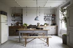 rustic kitchen by paul massey