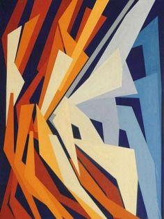 Combinazione di forze by Gualtiero Nativi, 1952, 100 x 75 cm | FerrarinArte