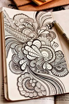 Zentangle Ideas | Tangles | Zentangle ideas and tangles | Pinterest