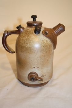mechanics wood fire tea pot by jesselofson on Etsy, $255.00