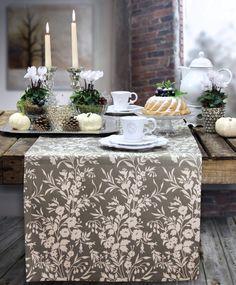 herbst gedeckter tisch mit tischdeko aus pfeln tischl ufer von sander reduziert im outlet. Black Bedroom Furniture Sets. Home Design Ideas