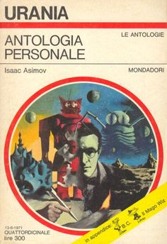 568 	 ANTOLOGIA PERSONALE 13/6/1971 	 NIGHTFALL AND OTHER STORIES (1969)  Copertina di  Karel Thole 	  ISAAC ASIMOV