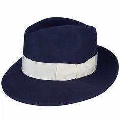 4c044ed0982bce 1920s Mens Hats – 8 Popular Styles 1920s Bollman Collection Fedora $100.00  AT vintagedancer.com