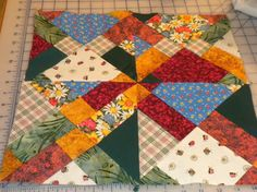 Quilting: Disappearing 9 Patch tutorial-easy and cute