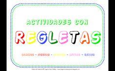 RECURSOS AULA DE APOYO: ACTIVIDADES CON REGLETAS