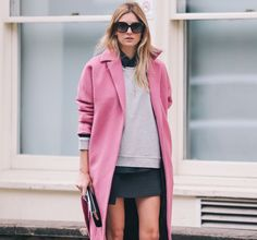 Fall winter must have: the oversize #coat
