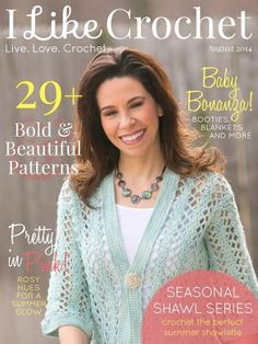 Get access to brand new, never-before-featured crochet patterns, tutorials, and more with a free subscription new digital magazine, I Like Crochet. Giveaway compliments of AllFreeCrochetAfghanPatterns and ILikeCrochet.