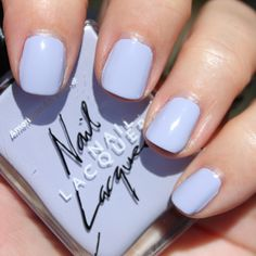 Just got this pretty lavender color! Formula is a bliss
