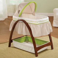 Summer Infant® Bentwood Bassinet With Motion Baby Time - JCPenney