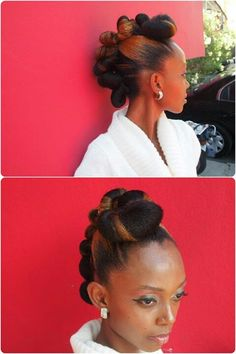 Hair BOLDacity via The Brown Truth. The Brown Truth is a natural-haired woman who became interested in creating natural hairspiration and. Pelo Natural, Natural Hair Tips, Natural Hair Styles, Short Hair Styles, Love Hair, Gorgeous Hair, African Hairstyles, Up Hairstyles, Curly Hair Types