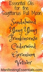 Manage your moods and emotions that may flare with the Sagittarius Full Moon wit… - Holistic Health Lemon Essential Oils, Young Living Essential Oils, Essential Oil Blends, Oils For Life, Sacral Chakra, Oil Benefits, Diffuser Blends, Full Moon, Sagittarius