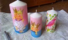 ARTE EN TU DIA: Velas decoradas y perfumadas