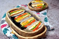 오니기라즈 만들기 김밥보다 쉬운 밥샌드위치 도시락 : 네이버 블로그 Korean Food, Fresh Rolls, Food And Drink, Cooking, Ethnic Recipes, Baking Center, Korean Cuisine, Kochen, South Korean Food