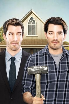 Jonathan Silver Scott & Drew Scott are the Property Brothers