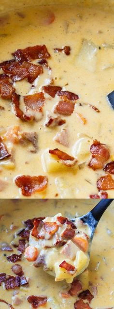 cheesy ham and potato chowder longpin