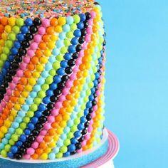 Sprinkle Dot Cake