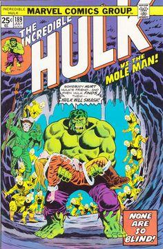 Incredible Hulk # 189 by Herb Trimpe