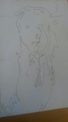 Start of my final piece for art