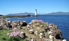 "Rubha Nan Gall Lighthouse, Argyllshire Current lighthouse built: ? Geographic Position: 56° 38"" 17'  -6° 3"" 56'"